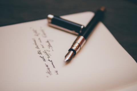 Tenant Referencing, hand written letter